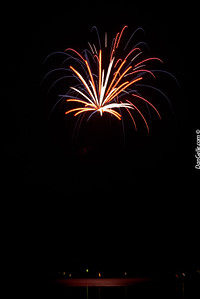 Litchfield Watercade Fireworks 2015