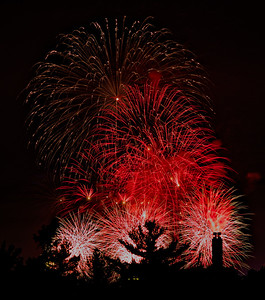 Boston fireworks July 4, 2015