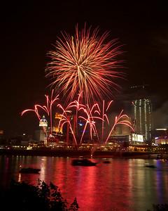 Cincinnati Reds Fireworks