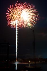 Fireworks, Crystal Lake IL