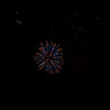 This is a photo from the Derry, NH July 4th Fireworks taken behind Shaw's Supermarket.