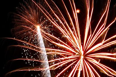 Gates Fireworks 2011
