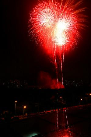 Fireworks In WOODLAND HILLS