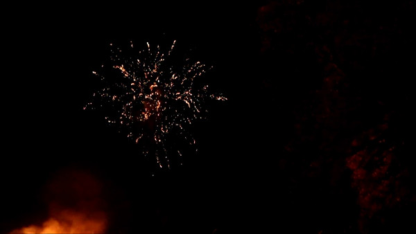Fireworks video 1