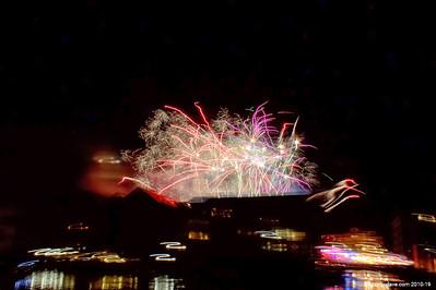 Gloucester Docks Firework Display 2014 014