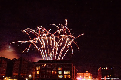 Gloucester Docks Firework Display 2014 016