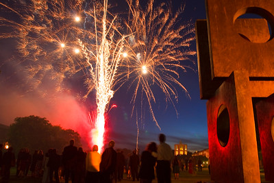 Churchill College Fireworks-2