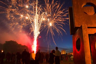 Churchill College Fireworks-2