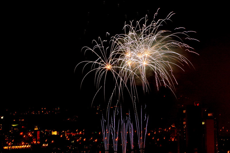 2009 WEBN Fireworks, from Bellevue, KY