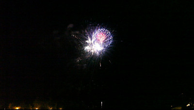Fireworks at Charlotte pier, June 25,  Finale