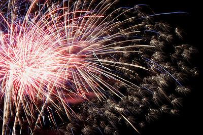 Fireworks show Harborfest 2011