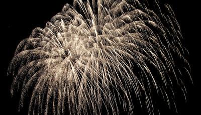 Fireworks at Charlotte pier, June 25, 2010