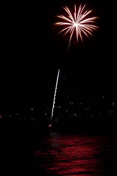 Manzanita Fireworks, 2008 and 2010