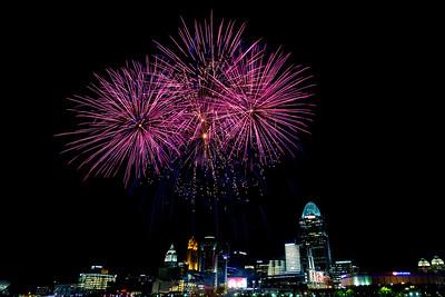 Red's Fireworks June, 2017