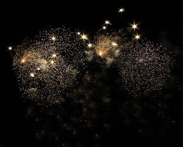 Fireworks at SkyFire 2008