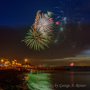 Union Beach Fireworks - 2013