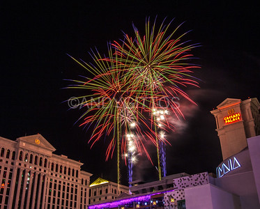 July 4th Fireworks, Las Vegas