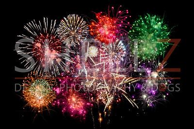 Fireworks on the Fourth - Ramona, CA