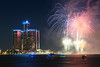 Detroit Windsor International Fireworks