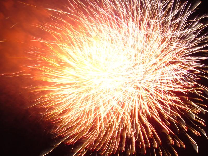 Luminous Bursts of Freedom's Ring