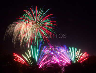 Bonfire Night Fireworks at Ally Pally