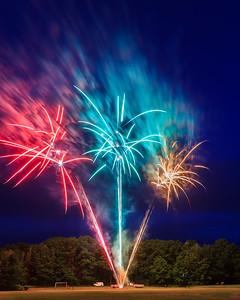 Fireworks In Leland