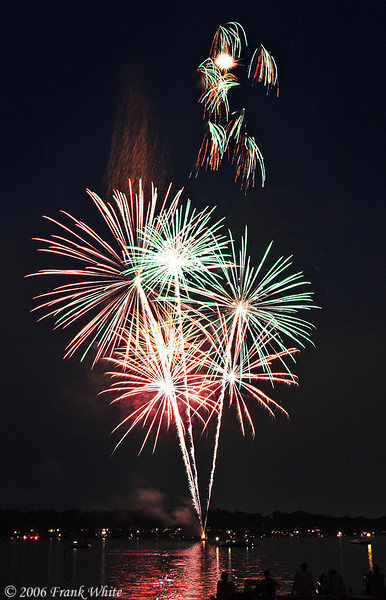 Fireworks Orchard Lake Michigan #16