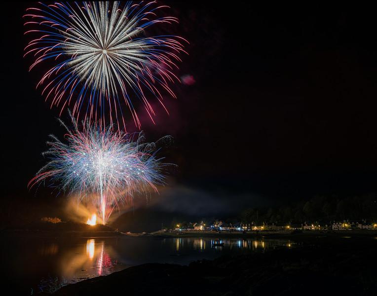 Plockton fireworks 2019