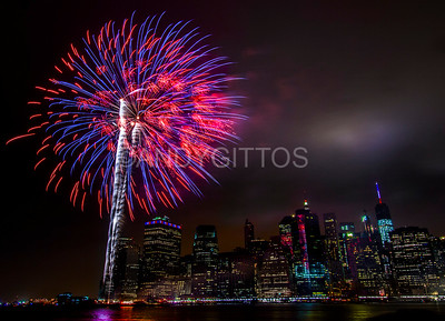 4th July Fireworks NYC
