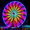 Coloured Ferris Wheel