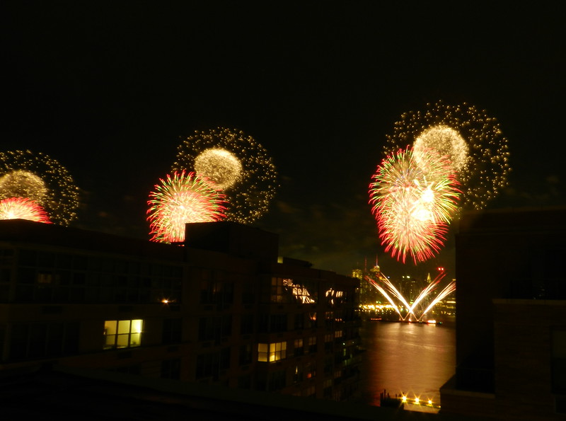 Fireworks at the Shipyard in Hoboken