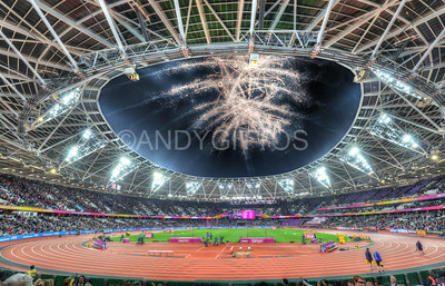 London 2017 Athletics Championships Fireworks