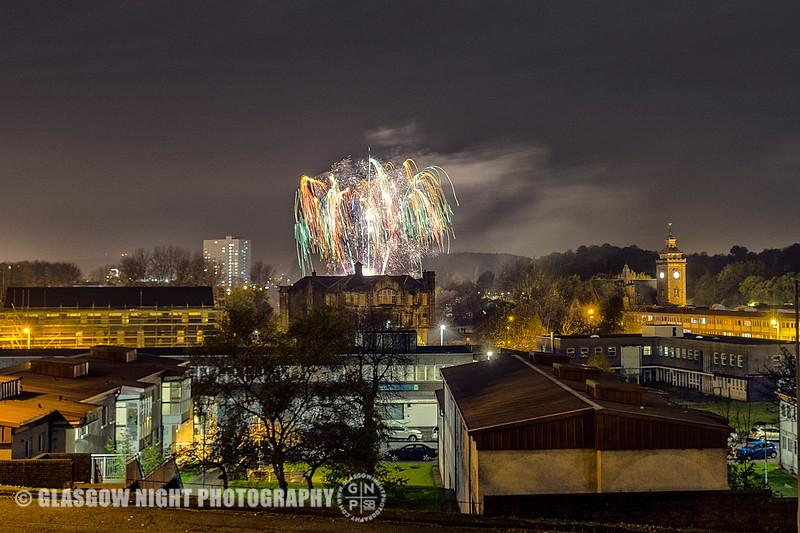 Pollokshaws Fireworks