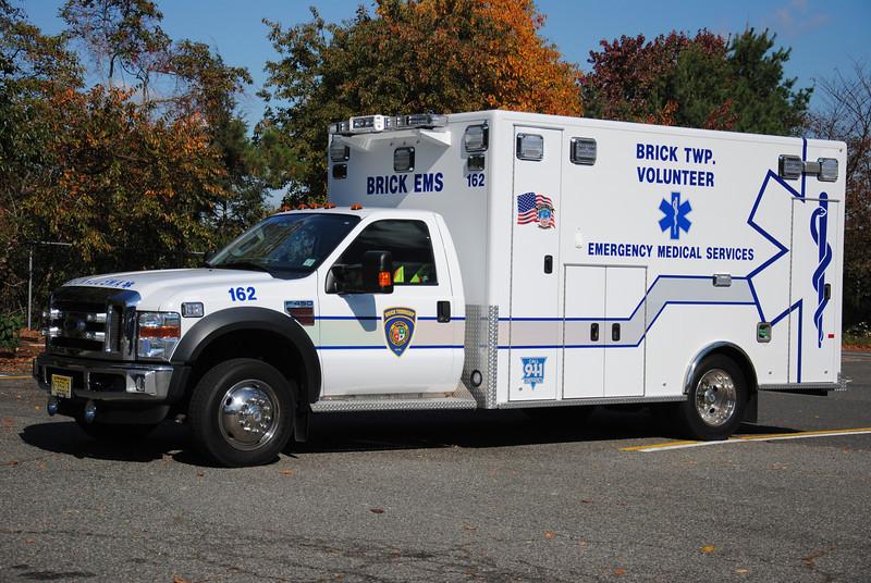 Brick Twp Volunteer EMS Ambulance 162