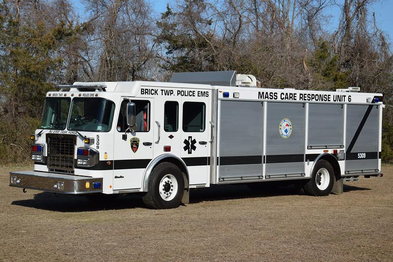 Brick Township EMS Mass Care Response Unit 5309
