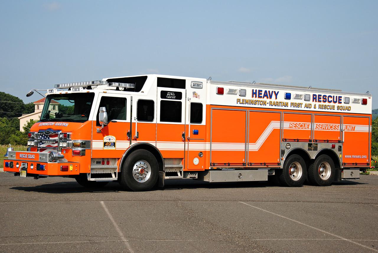 Flemington-Rartian First Aid & Rescue Squad, Flemington NJ Rescue 49