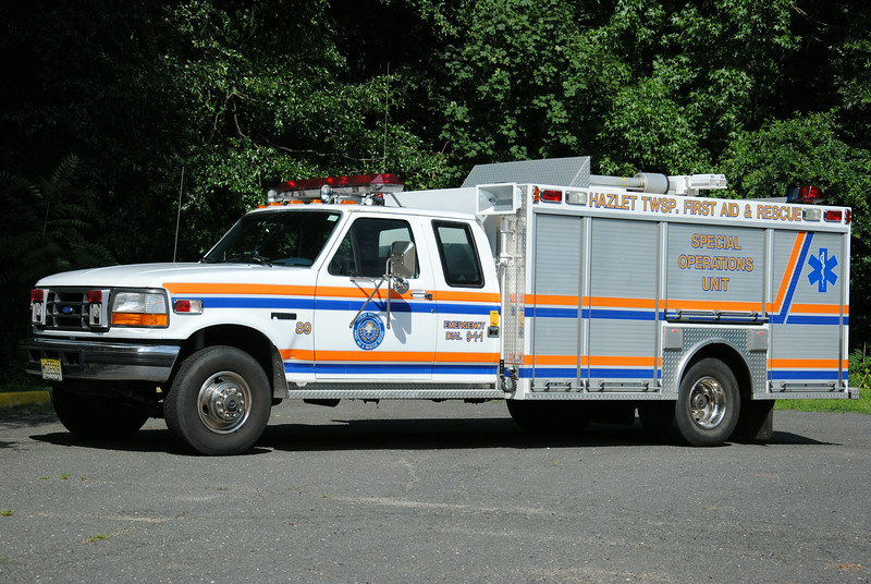 Hazlet First Aid Squad Special Operations Unit 3964