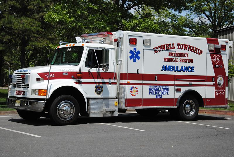 Howell Twp First Aid & Rescue Squad Ambulance 19-64