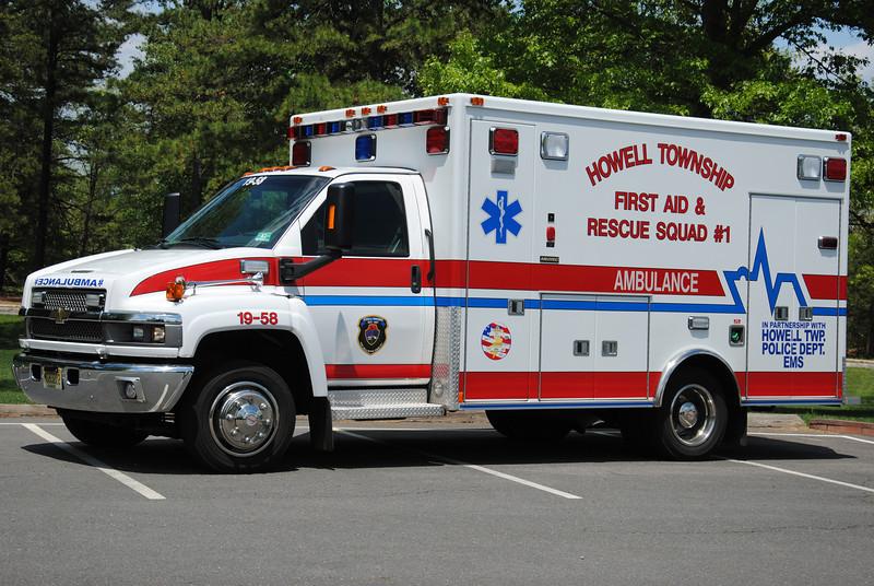 Howell Twp First Aid & Rescue Squad Ambulance 19-58