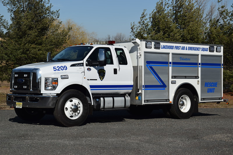 Lakewood First Aid & Emergency Squad Rescue 5209