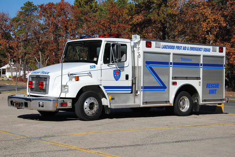 Ex-Lakewood First Aid & Emergency Squad Rescue 529