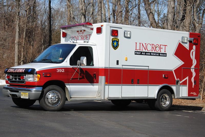 Lincroft First Aid & Rescue Squad BLS 392