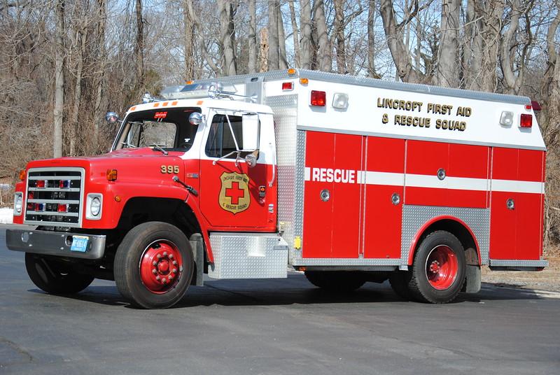 Ex Lincroft First Aid & Rescue Squad Rescue 395