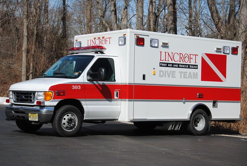 Lincroft First Aid & Rescue Squad Dive Rescue 393