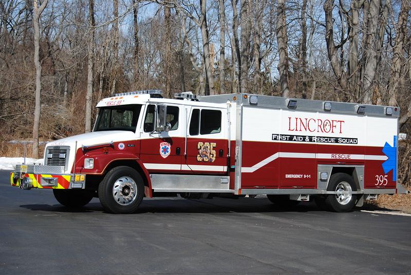 Lincroft First Aid & Rescue Squad Rescue 395