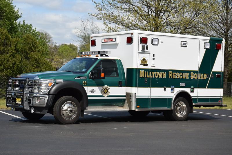 Milltown Rescue Squad, Ambulance 35