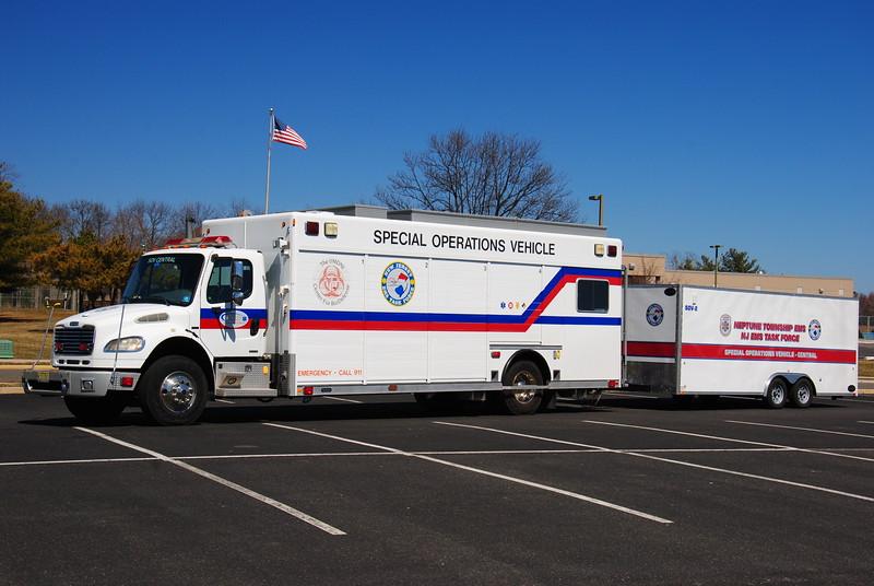 NJ EMS Task Force, Neptune Twp SOV Central & SOV-2