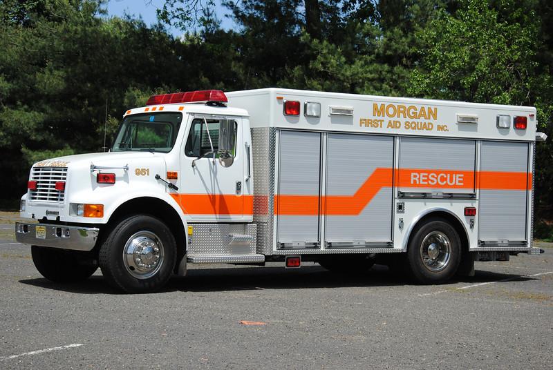 Morgan First Aid Squad Rescue 951