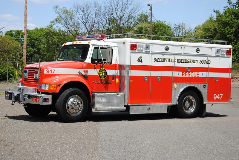 Sayreville Emergency Squad Rescue 947