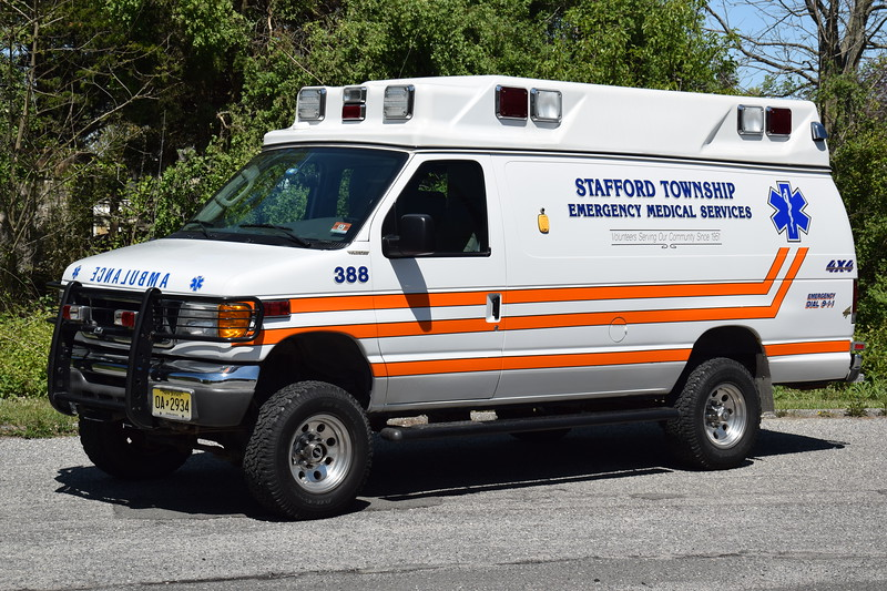 Stafford Twp EMS Ambulance 388